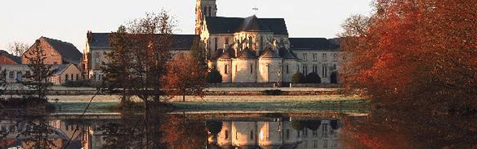 L'abbaye de la Trappe à Soligny la Trappe