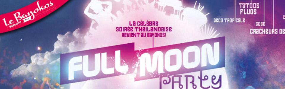 Full moon party au Bayocos