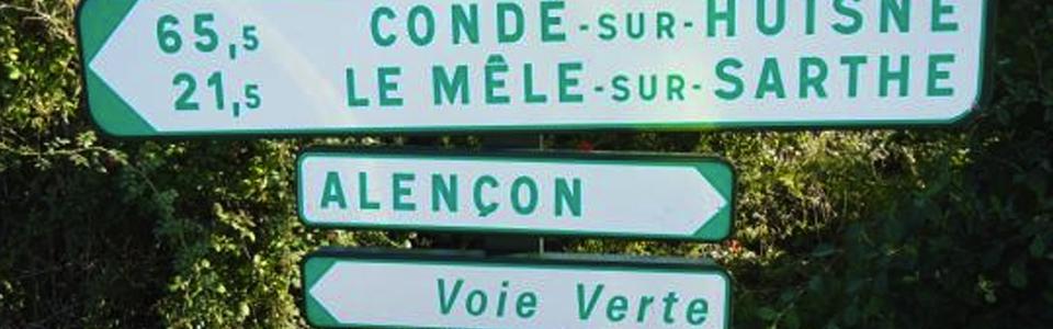 voie verte Alençon Conde