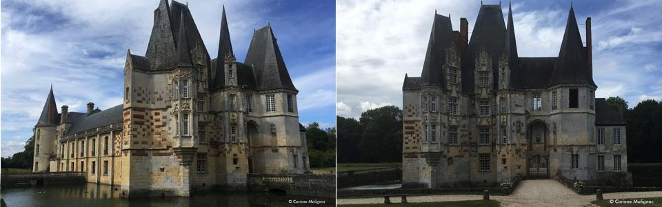 Château dÔ Mortrée © Corinne Malignac